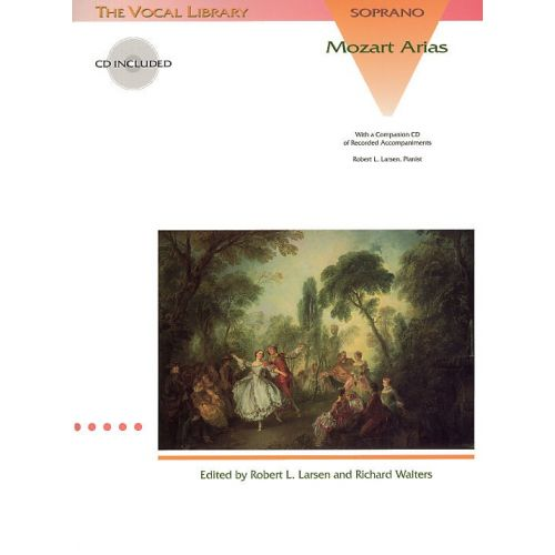 HAL LEONARD MOZART ARIAS FOR SOPRANO + CD - SOPRANO