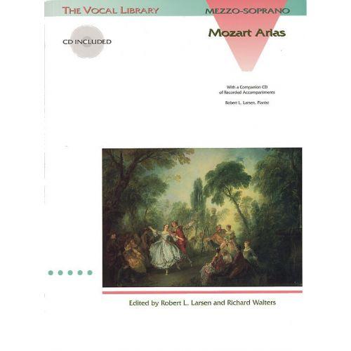 HAL LEONARD MOZART ARIAS FOR MEZZO-SOPRANO + CD - MEZZO-SOPRANO