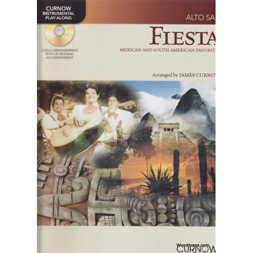 CURNOW JAMES - FIESTA + CD - SAXOPHONE ALTO