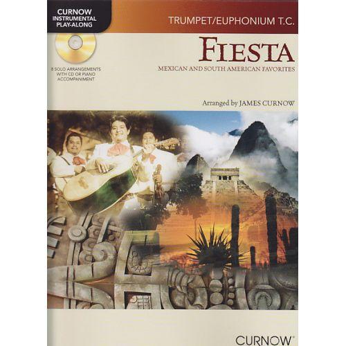 CURNOW JAMES - FIESTA + CD - TROMPETTE