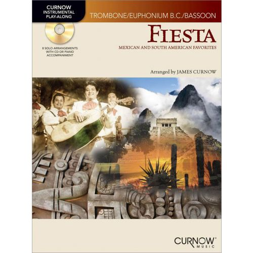 CURNOW JAMES - FIESTA + CD - TROMBONE