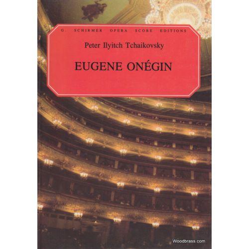 HAL LEONARD TCHAIKOVSKY P.I. - EUGENE ONEGIN - VOCAL SCORE