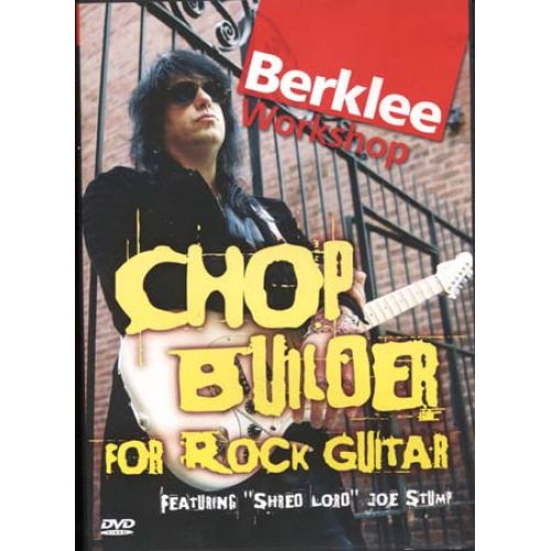 HAL LEONARD DVD - STUMP JOE - CHOP BUILDER FOR ROCK GUITAR