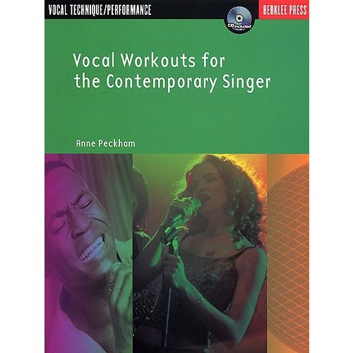 HAL LEONARD ANNE PECKHAM VOCAL WORKOUTS FOR THE CONTEMPORARY SINGER + CD - VOICE