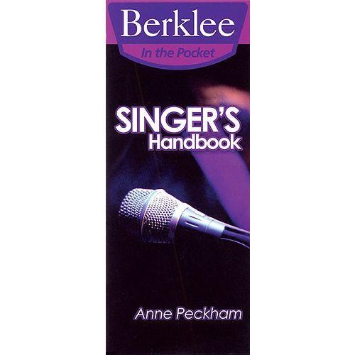 BERKLEE ANNE PECKHAM SINGER'S HANDBOOK - VOICE