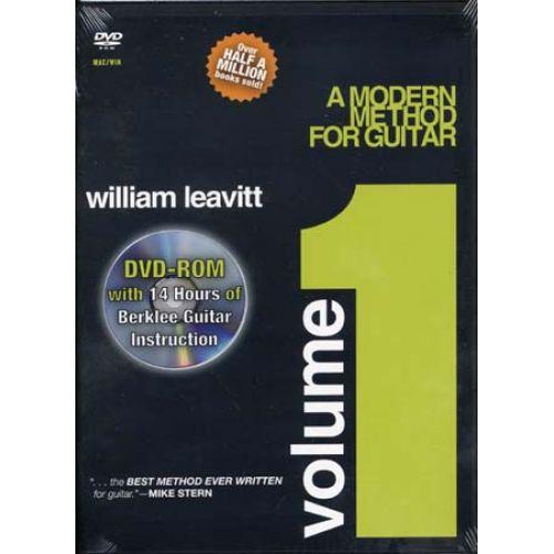 HAL LEONARD DVD - BAIONE LARRY - ROM BERKLEE MODERN METHOD VOL.1 - GUITARE