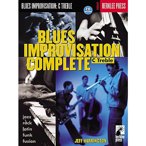 HAL LEONARD BLUES IMPROVISATION COMPLETE C TREBLE + CD - C INSTRUMENTS