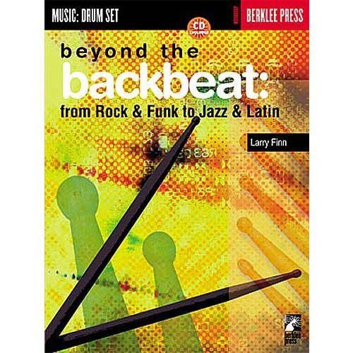 HAL LEONARD BERKLEE BEYOND BACKBEAT DRUMS + CD