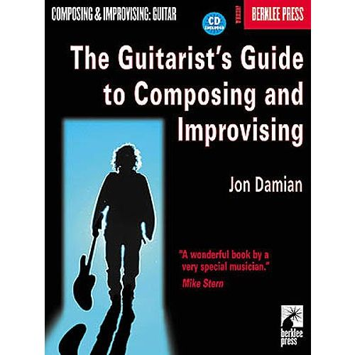 HAL LEONARD THE GUITARIST'S GUIDE TO COMPOSING AND IMPROVISING + CD - GUITAR