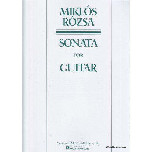 HAL LEONARD ROZSA M. - SONATA FOR GUITAR