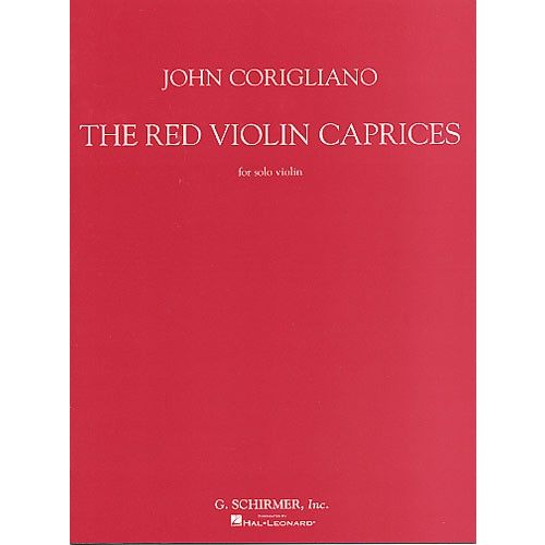 HAL LEONARD JOHN CORIGLIANO - THE RED VIOLIN CAPRICES FOR SOLO - VIOLIN