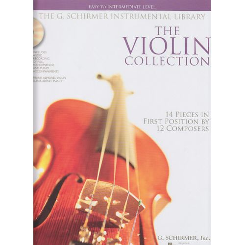 SCHIRMER VIOLIN COLLECTION + CD, EASY TO INTERMEDIATE LEVEL