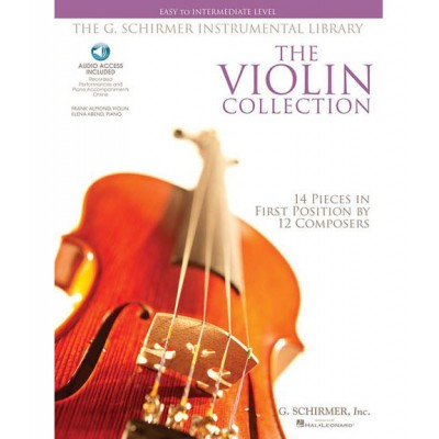 SCHIRMER VIOLIN COLLECTION + MP3, EASY TO INTERMEDIATE LEVEL