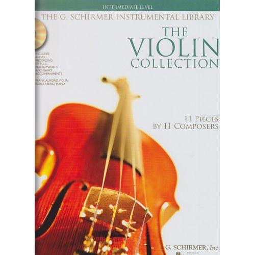SCHIRMER VIOLIN COLLECTION + CD, INTERMEDIATE LEVEL - VIOLON, PIANO