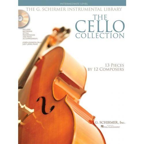 SCHIRMER CELLO COLLECTION + CD, INTERMEDIATE LEVEL