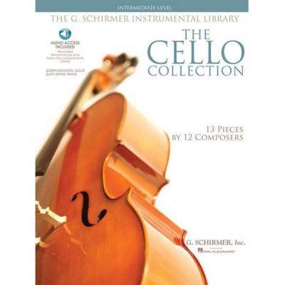 SCHIRMER CELLO COLLECTION + MP3, INTERMEDIATE LEVEL
