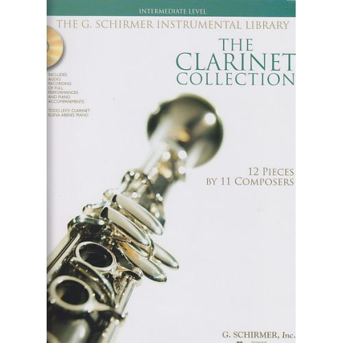 SCHIRMER CLARINET COLLECTION + CD, INTERMEDIATE LEVEL