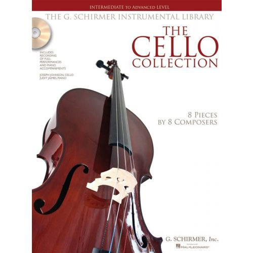 SCHIRMER CELLO COLLECTION + CD, INTERMEDIATE TO ADVANCED LEVEL