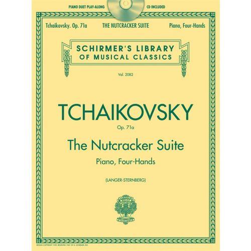 HAL LEONARD PIANO DUET PLAY-ALONG THE NUTCRACKER SUITE TCHAIKOVSKY + CD - PIANO DUET
