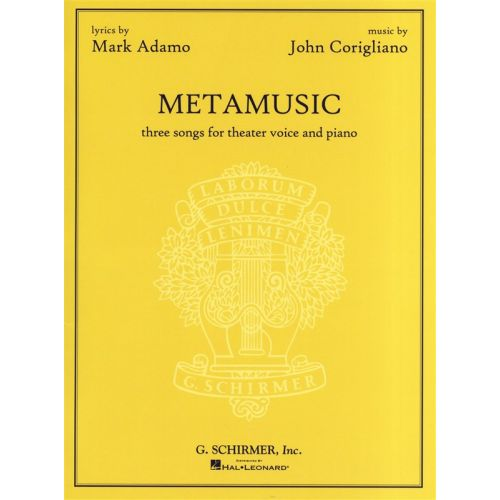 HAL LEONARD CORIGLIANO JOHN - METAMUSIC - VOICE