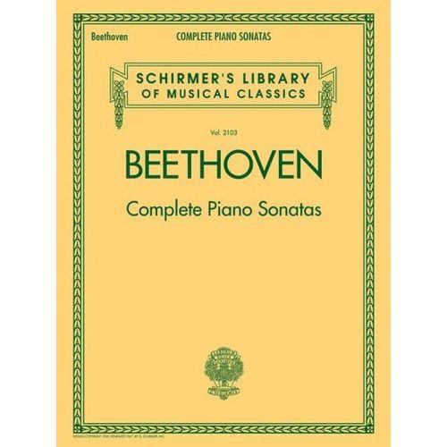 SCHIRMER BEETHOVEN L.V. - COMPLETE PIANO SONATAS