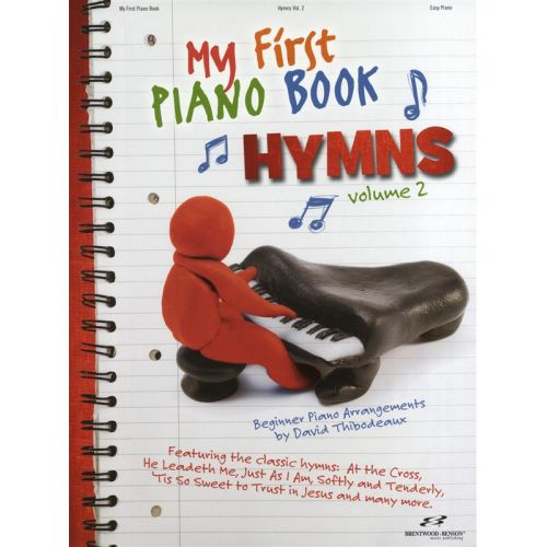 HAL LEONARD MY FIRST PIANO BOOK HYMNS VOLUME 2 - PIANO SOLO