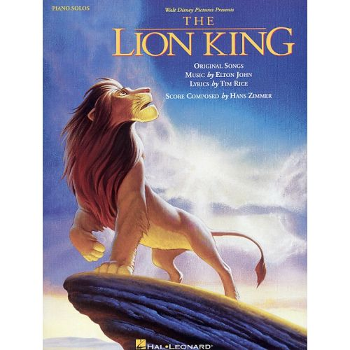HAL LEONARD HANS ZIMMER - THE LION KING - PIANO SOLO