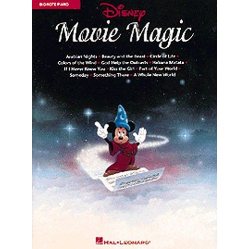 HAL LEONARD DISNEY MOVIE MAGIC BIG-NOTE PIANO - PVG