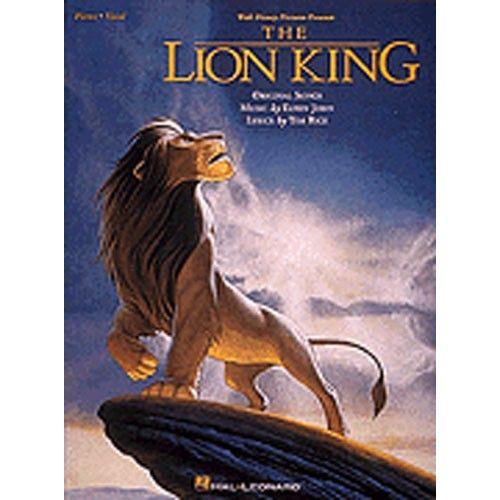 HAL LEONARD THE LION KING - PVG