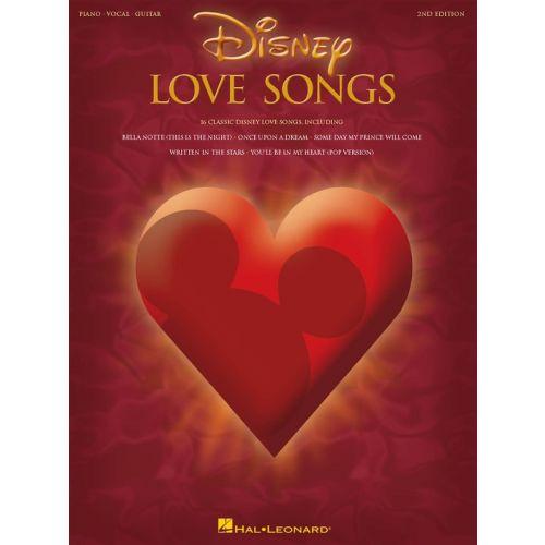 HAL LEONARD DISNEY LOVE SONGS