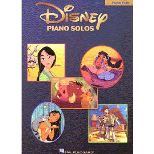 HAL LEONARD DISNEY PIANO SOLOS - PIANO SOLO