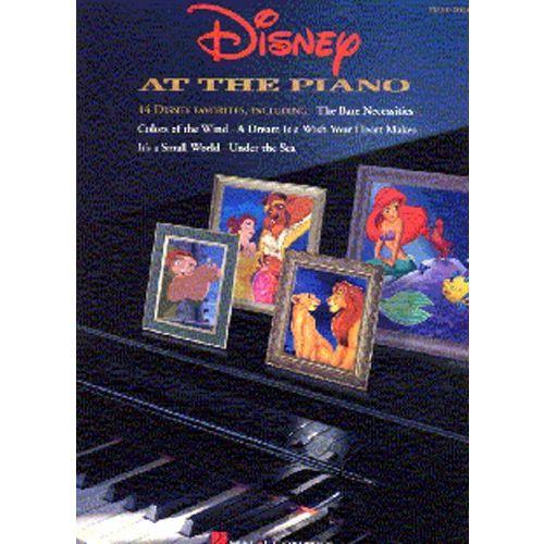 HAL LEONARD DISNEY AT THE - PIANO SOLO