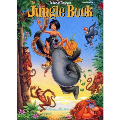 HAL LEONARD THE JUNGLE BOOK EASY PIANO - PVG