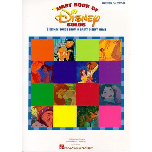 HAL LEONARD FIRST BOOK OF DISNEY SOLOS - PIANO SOLO