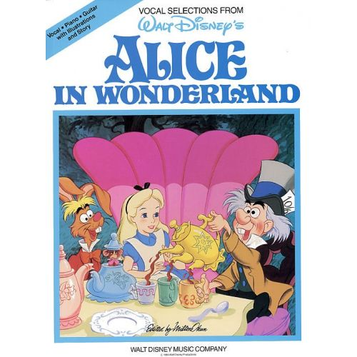 HAL LEONARD DISNEY - ALICE IN WONDERLAND - PVG