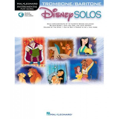 HAL LEONARD DISNEY SOLOS + MP3 - TROMBONE