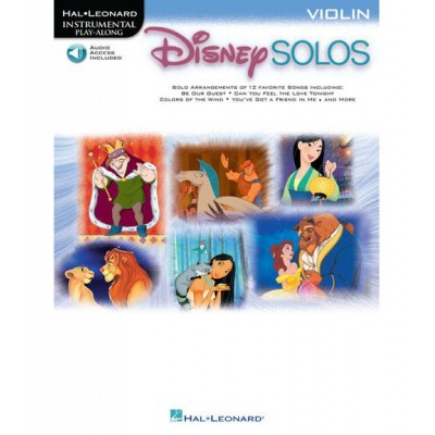 HAL LEONARD DISNEY SOLOS FOR VIOLIN + MP3 - VIOLIN