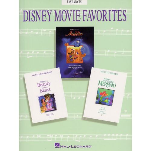 HAL LEONARD DISNEY MOVIE FAVORITES - EASY - VIOLIN