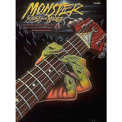 HAL LEONARD DAVE CELENTANO - MONSTER SCALES AND MODES - BY DAVE CELENTANO - GUITAR