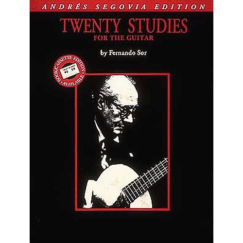 HAL LEONARD FERNANDO SOR TWENTY STUDIES FOR GUITAR - GUITAR