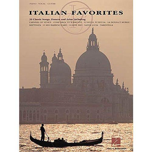 HAL LEONARD ITALIAN FAVORITES - VOICE