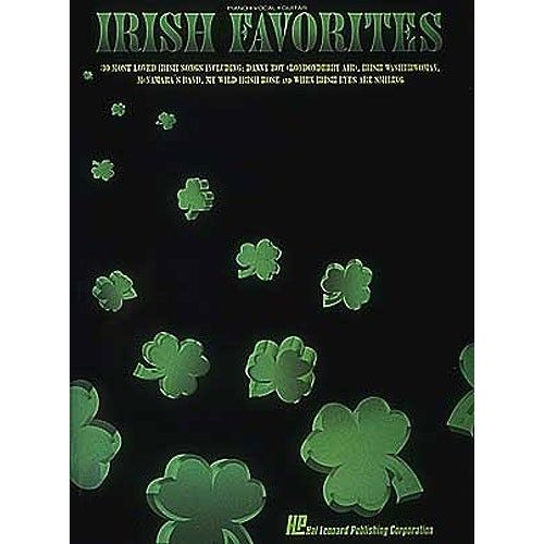 HAL LEONARD IRISH FAVORITES - PVG