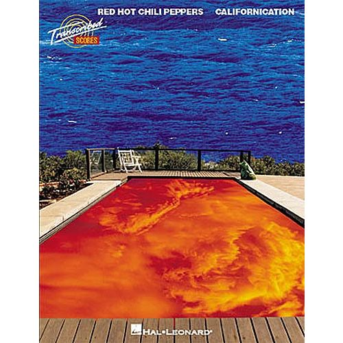 HAL LEONARD RED HOT CHILI PEPPERS CALIFORNICATION - BAND SCORE