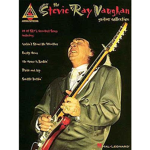 HAL LEONARD THE STEVIE RAY VAUGHAN GUITAR COLLECTION - GUITAR TAB