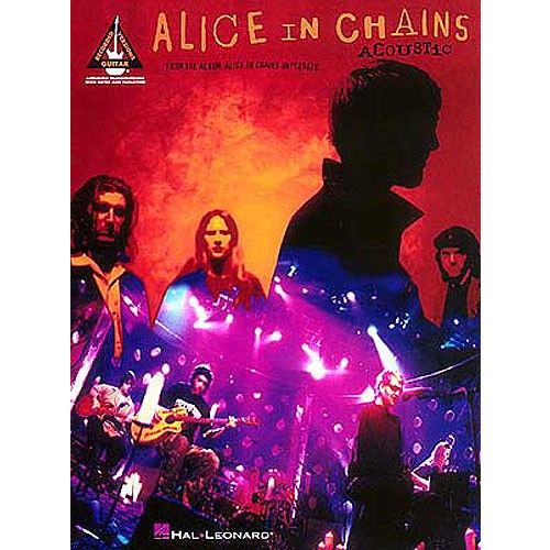 HAL LEONARD JONATHON LARSON - ALICE IN CHAINS ACOUSTIC - GUITAR TAB
