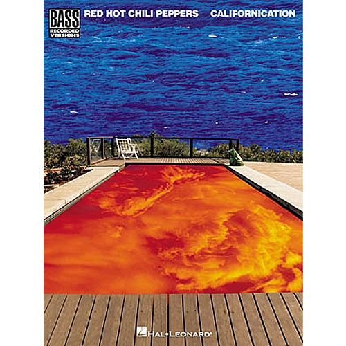 HAL LEONARD RED HOT CHILI PEPPERS CALIFORNICATION - CALIFORNICATION BASS RECORDED VERSIONS - BASS GUITAR