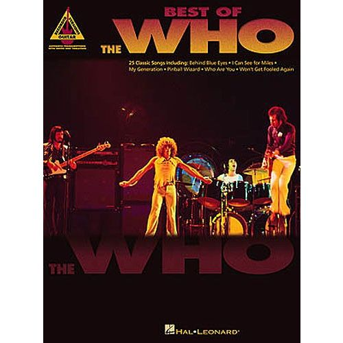 HAL LEONARD BEST OF THE WHO - GUITAR TAB