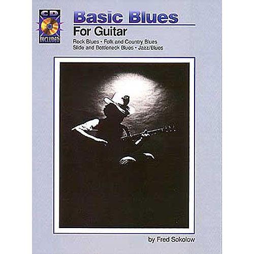 HAL LEONARD BASIC BLUES FOR + CD - GUITAR TAB