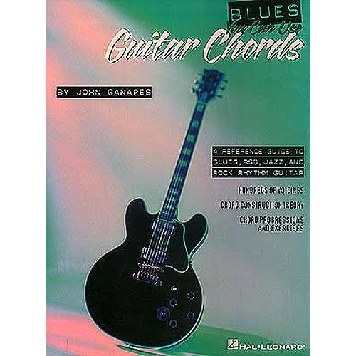 HAL LEONARD BLUES YOU CAN USE GUITAR CHORDS - GUITAR