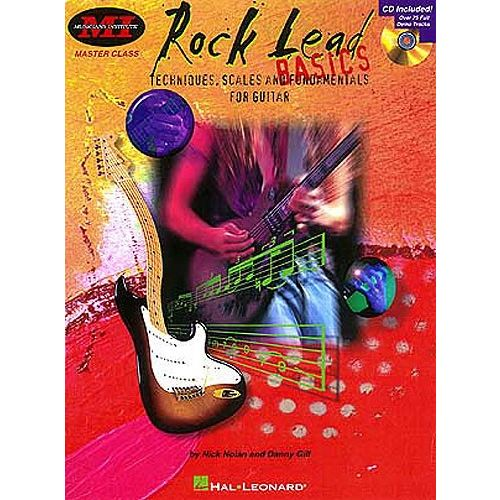 HAL LEONARD NOLAN NICK - ROCK LEAD BASICS - GUITAR TAB